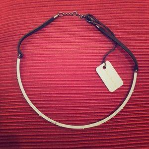 Jewelry - Silver Studded Choker Necklace